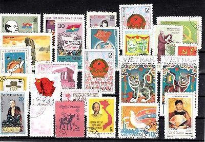 Lot Briefmarken Stamps Vietnam O (925) Verhindern, Dass Haare Vergrau Werden Und Helfen, Den Teint Zu Erhalten
