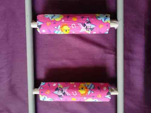 MY LITTLE PONY Padded BunkBed Ladder Rung Covers *No-Tool Install* Safe /& Secure