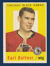 EARL BALFOUR 59-60 TOPPS 1959-60 NO 50 EXMINT 4