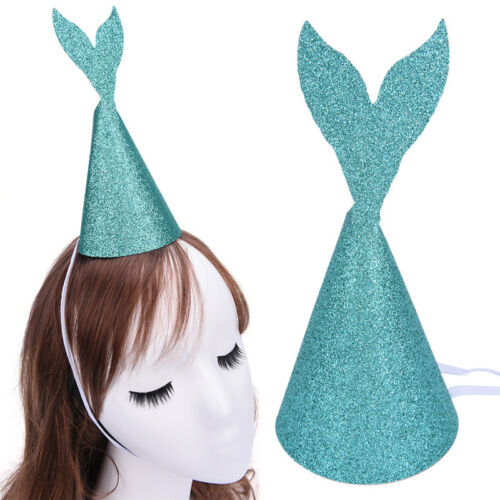 Glitter Mermaid Tail Party Hats Girlfriends Birthday Party Hat Funny hat ca