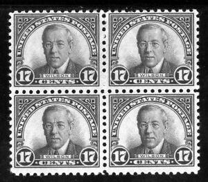 USAstamps-Unused-FVF-US-Rotary-Printing-Block-Wilson-Scott-697-OG-MNH-MH