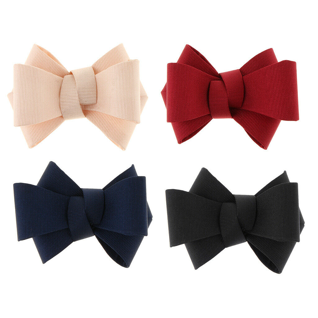 Bow Shoe Clips Removable Bridal High Heel Shoes Buckle Clip Prom Shoe Charms