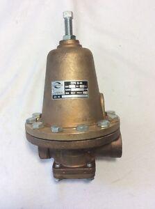cash acme pressure reducing valve type g 60 100 psi range 75 150 1 ebay. Black Bedroom Furniture Sets. Home Design Ideas