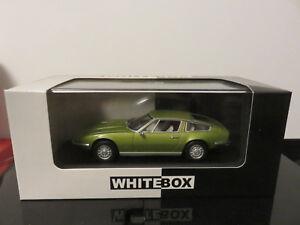 VOITURE-MASERATI-INDY-DE-1971-EDITION-LIMITED-WHITEBOX-1-43-ETAT-NEUF