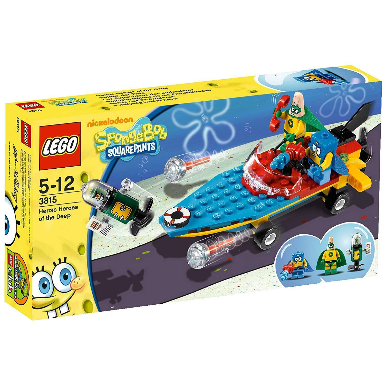LEGO Sponge Bob 3815  Heroic Heroes of the Deep