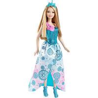 Barbie Princess Easy Dress Doll Blue Dress Create Your Princess Summer Doll