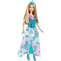 Barbie Princess Easy Dress Doll Blue Dress Create Your Princess Summer Doll