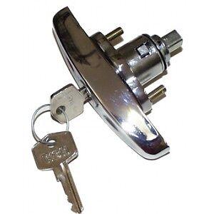 CLASSIC MINI CHROME BOOT HANDLE MK3> JRC2844 AUSTIN MORRIS COOPER LOCK 4F2