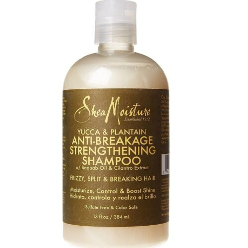 Shea Moisture Anti-Breakage Strengthening Shampoo, Yucca - Plantain 13 oz (9pk)