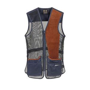 0db1539689bdd Musto Mens True Navy Competition Skeet Vest Left Handed Size SMALL ...