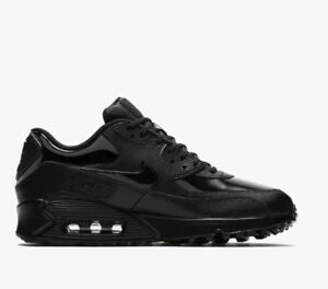 cheap for discount bcfd5 2755f Image is loading WMNS-Nike-Air-Max-90-Lea-921304-002