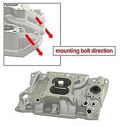 Edelbrock 2111 Performer Intake Manifold Dual Plane Square Bore Flange