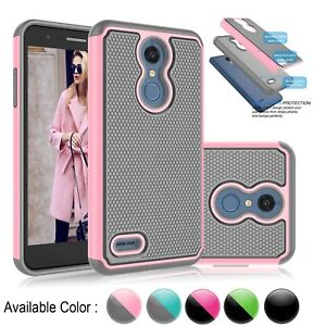 cheap for discount 379b6 85642 Details about For LG K30 / LG K10 2018 Phone Case Shockproof Hybrid Hybrid  Rubber Hard Cover