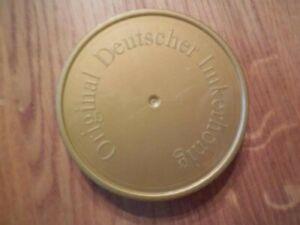 100 Ersatz-Deckel  f.500g Neutral-Gläser,Imkerei,Imker
