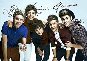 One-Direction-Zayn-Harry-Louis-Liam-Niall-Music-Autograph-Signed-A4-Poster-2
