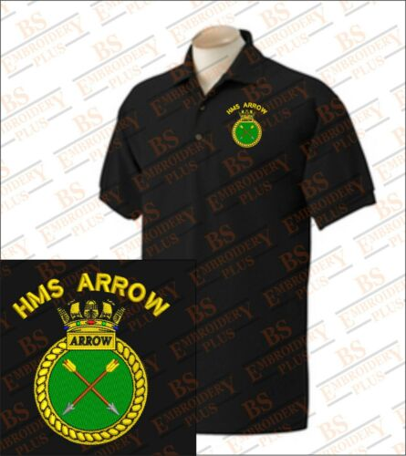 Hms arrow brodé polo shirts