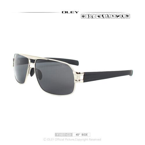 OLEY Brand Luxury Men Polarized Sunglasses HD UV Lens Spectacles Fishing Eyewear