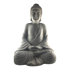 51cm Große Buddha Figur ca robust und wetterfest in original Steinoptik