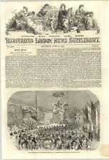 1853 Grand Entertainment Commodore Vanderbilt At Southampton