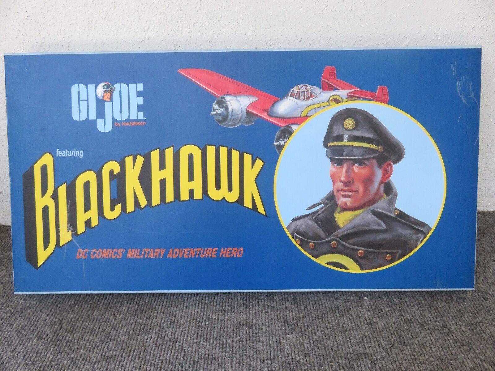 G.I. Joe Dreams & visiones DC COMICS negrohawk + conjuntos de rescate de aire y las tropas de hielo