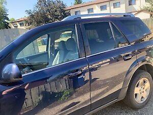 Blue 2007 Saturn Vue V6 front wheel drive