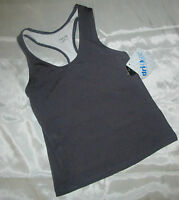 Aspire Women Sport Thank Shirt Racerback Charcoal Size Small 1135