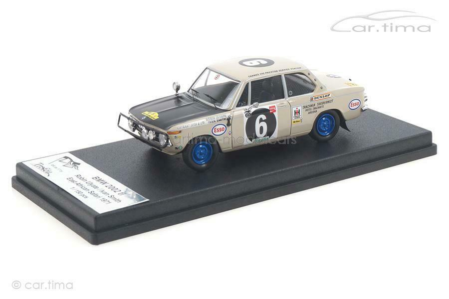 BMW 2002 ti East African Safari 1971 Ulyate   Smith - Trofeu 1 43 RRDE17