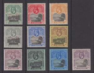ST-HELENA-61-70-SET-MINT-HEAVY-HINGED-OG-NO-FAULTS-VERY-FINE-T592