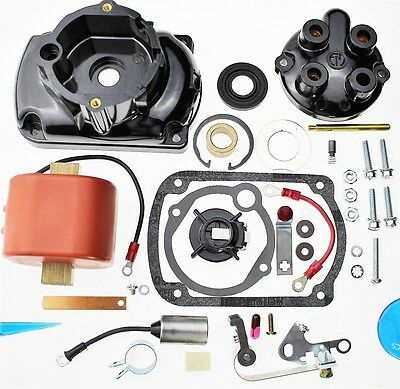 Magneto Kit Cap Cover Coil Rotor Points Fit Wisconsin VHD VH4D VG4D FMX4B7A M47 EBay