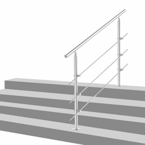Balustrade acier inoxydable Rod Balustrade Main Courante V2Aox