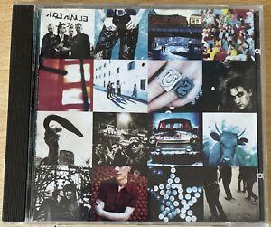 CD ALBUM U2 ACHTUNG BABY