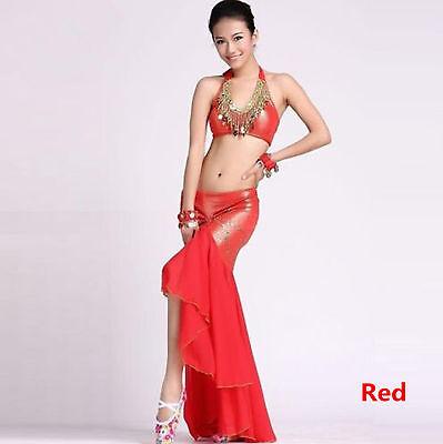 Belly Dance Costume Sexy Bra Peacock Top  Practice Top 9 Colors(No Skirt)