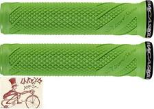 LIZARD SKINS DANNY MACASKILL LOCK-ON LIME GREEN BICYCLE GRIPS