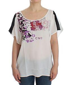 C Costume Etichetta Bianco E Con Motivo Nuova National ExPzqW