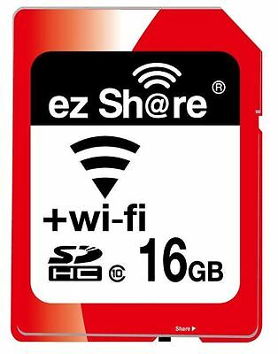 *NEU* ez-Share WiFi SDHC 16GB Class 10 Flash Memory Card, Wi-Fi WLAN 16G SD