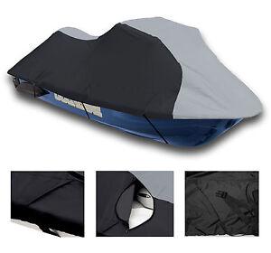 600-DENIER-Yamaha-Wave-Runner-VXS-2011-2012-Jet-Ski-PWC-Cover-Grey-Black