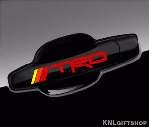 Toyota-TRD-Vinyl-Decal-Tacoma-Camry-Sticker-Door-Handle-Mirror-Wheel-2pcs