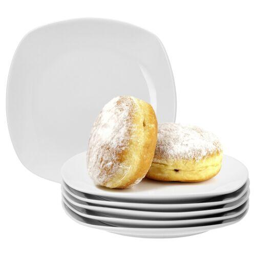 6er Set Dessertteller 19cm Serie Lilli Kuchenteller Teller Geschirr Porzellan