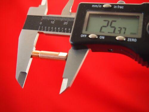 50Pcs 0.6mm*M6*6.0*25L Binzel Style Mig Tips 50Pcs 0.6mm*M6*6.0*25L Binzel Style