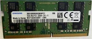 Samsung 16gb Ddr4 3200mhz M471a2k43db1 Cwe Sodimm Laptop Memory Ram 16gb X1 Ebay