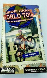 Libor-Karas-VHS-Video-Volvo-Cannondale-World-Tour-The-Bouncing-Czech-Trials-RARE
