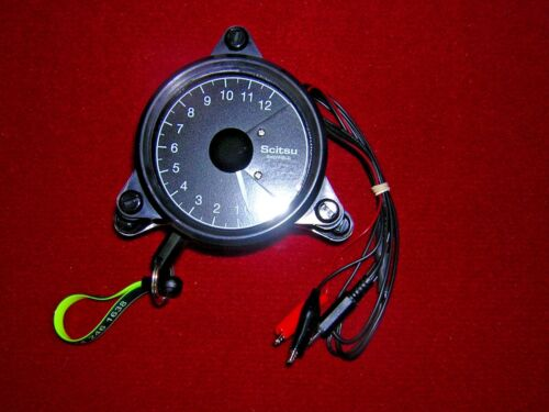 Scitsu Rev-Counter Red 12. Suits Twins with wasted spark. New