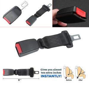 Universal 9/'/' Car Seat Adjustable Seatbelt Safety Belt Extender Extension Buckle