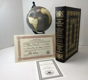 The Clinton Tapes by Taylor Branch  Signed First Edition EASTON PRESS