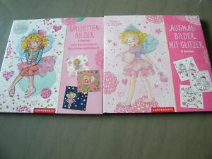 Neu Pailletten Bilder Od Ausmalbilder Glitzer Prinzessin Lillifee Coppenrath Ebay