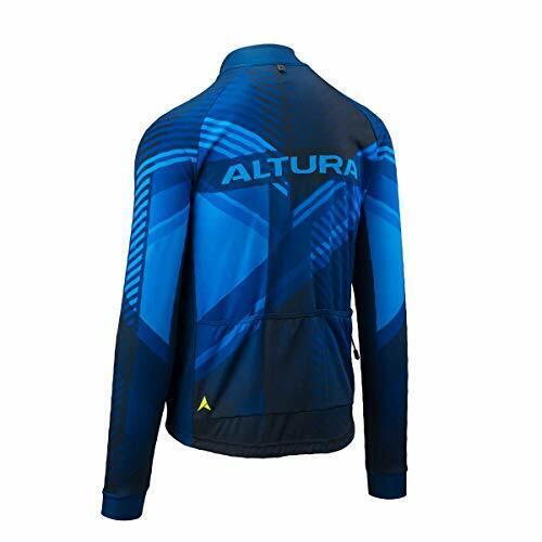 Altura Mens Team Long Sleeve Jersey, blu, Small
