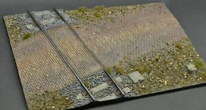 DioDump-DD110-A-Railroad-crossing-large-1-35-scale-resin-military-diorama-base