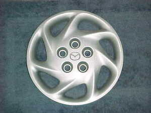 98-99-00-01-02-MAZDA-626-HUBCAP-15-034-ONE-USED-FACTORY-O-E-M-HUB-CAP-GD7E-37-170