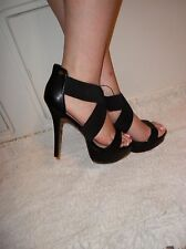 NEW BEBE Christie High Heels SIZE 9 OMG Where have you been, you will love them!