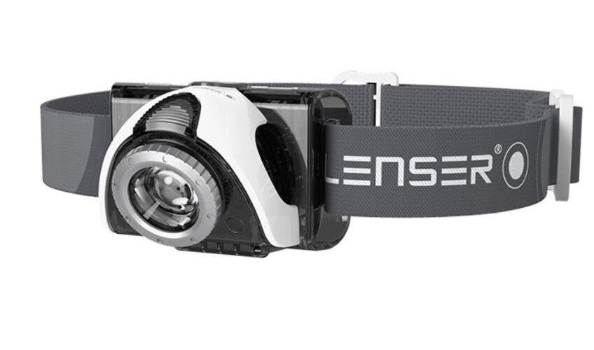 LED-Stirnlampe Zweibrüder LED Lenser SEO5